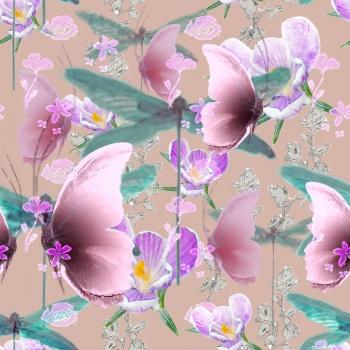 Cute Butterflies,Flowers