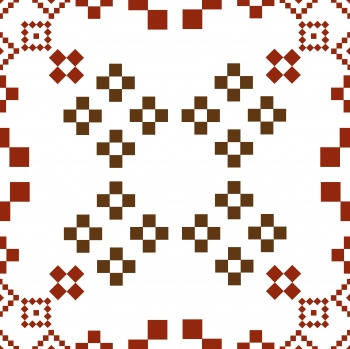 Ethnic folk ornament