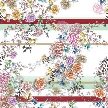 Delicate Bohemian Flowers