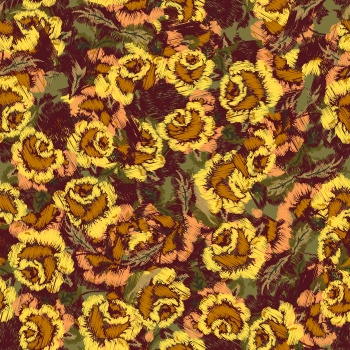 Digital Flowers_Yellow