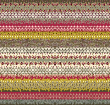 Ditsy Floral and Geometric Borders