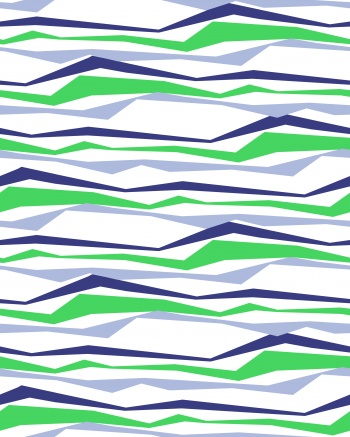 Three-color stripes