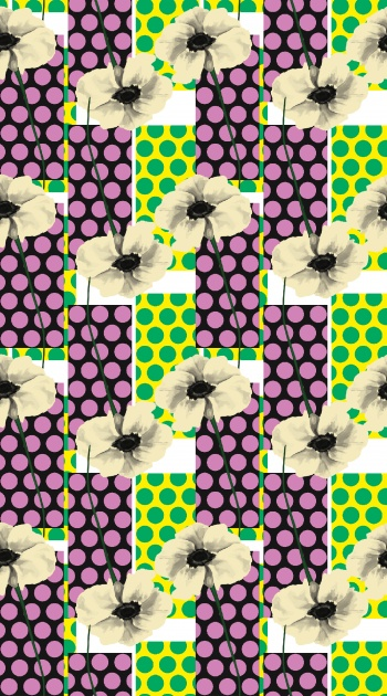 Ecru Flowers