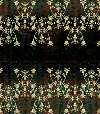 Ethnic Floral Ornaments