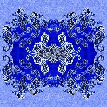 Ethnic In Blue