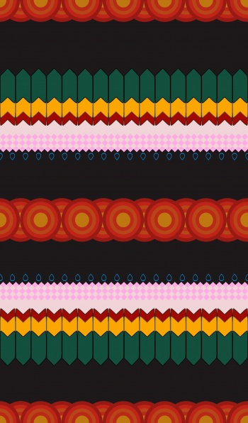 Ethnic Ribbon