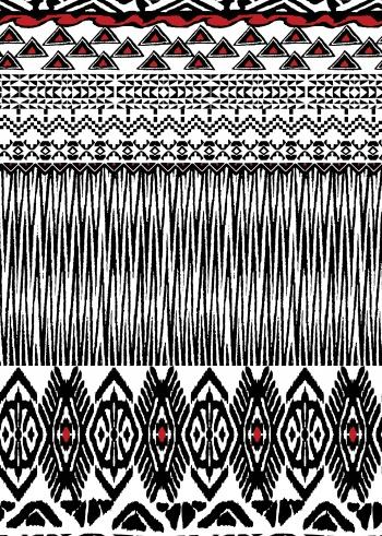 Ethnic tribal