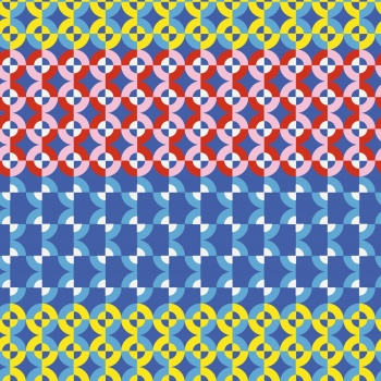 Exaggerated Retro Pattern