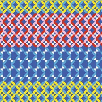 Exaggerated Retro Pattern