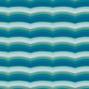 Abstract watercolor wavy stripes pattern