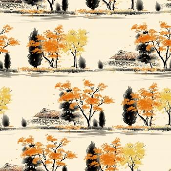 Fall in Village