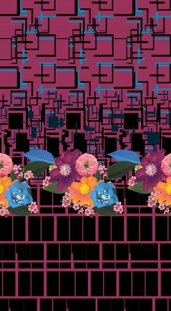 Floral border_474