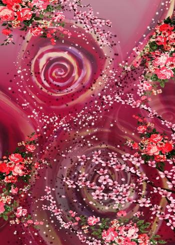 Floral eddy