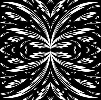 Floral geometric fantasy