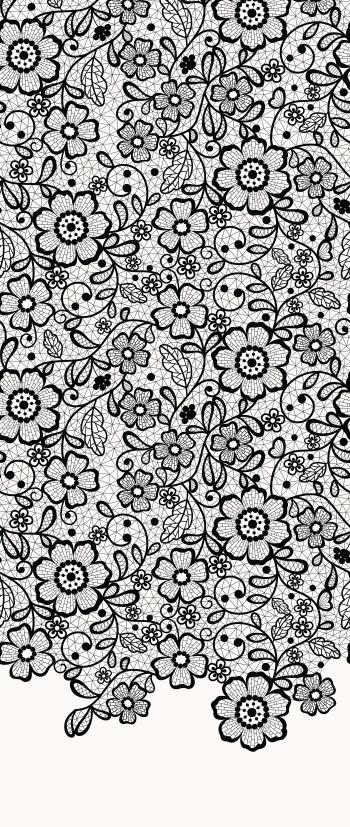 Floral graphic Lace