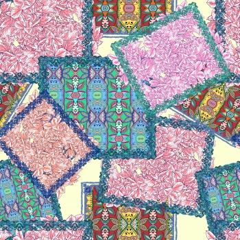 Floral Patchwork-Second Version