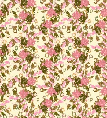 Floral Pattern Wtih Rose