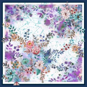 Floral Scarf Print