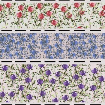 Floral Stripes