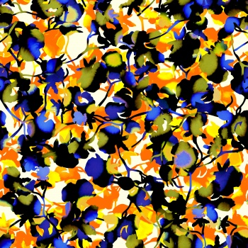 Floral - Tie Dye