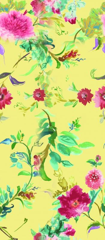 Floral with light paints