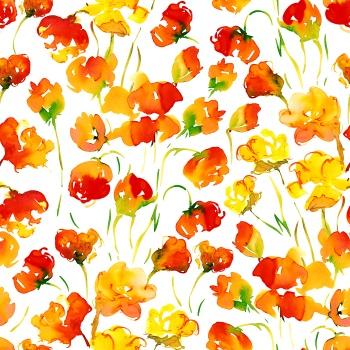 Floweristic Orange
