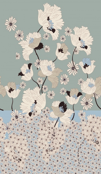 Flowers of pureness