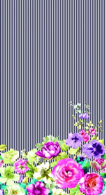 Flowers on bottom