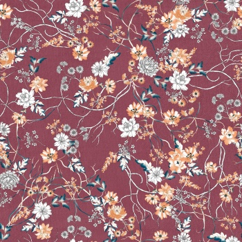 Flowers on Fabric