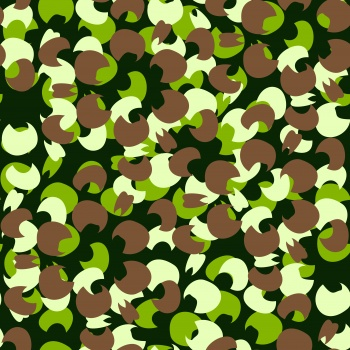 Flowery Camouflage Pattern