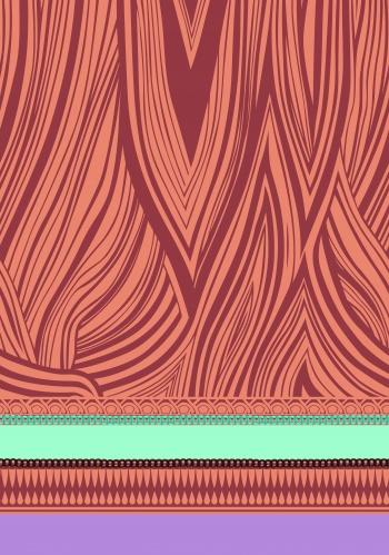 Flowing Wavy Stripes