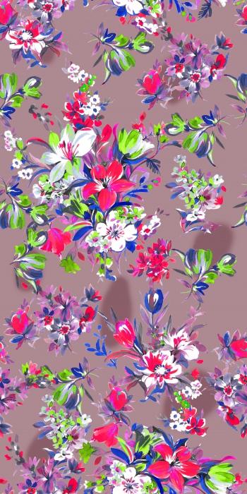 Fluorescent lilies