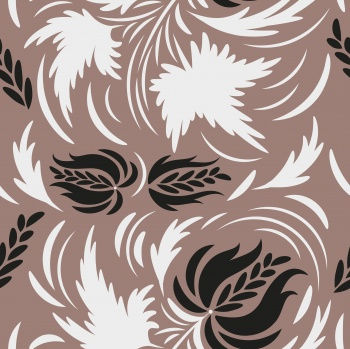 Folk floral pattern. Flowers print. seamless pattern
