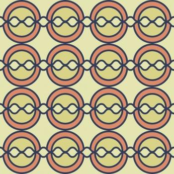 Geometry circle pattern
