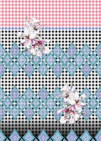 Gingham and Ikat