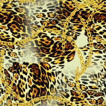Gold and Leopard