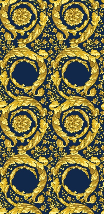 Golden Baroque Elements