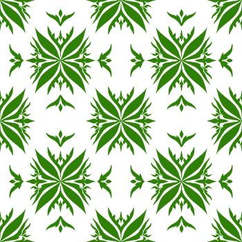 Green florals