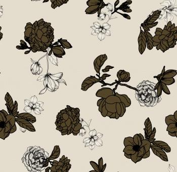 Khaki Flowers
