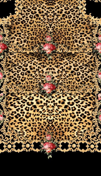 Leopard and baroque_5464