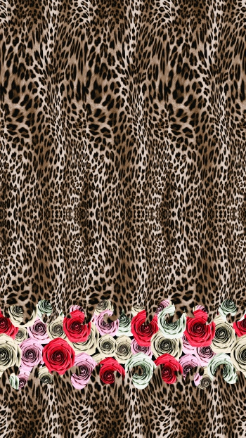 Leopard and Rose