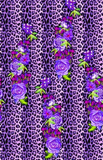 Leopard&roses