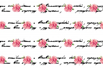 Letters and Roses