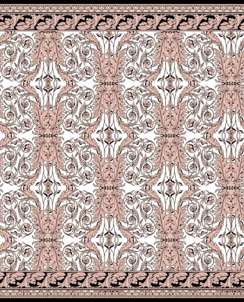 Light Pink Baroque