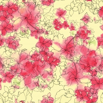 Line Art Flowers