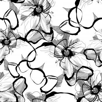 line like floral