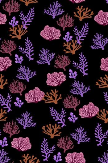 Marine life, coral,