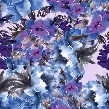 Maximalist Purple Flora
