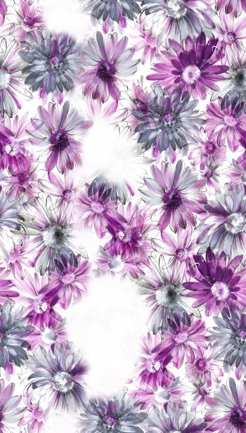 Missing purple flowers