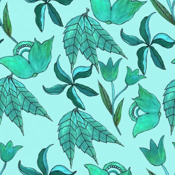 Mixed Aqua Botanicals